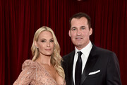 (L-R) Molly Sims and Producer Scott Stuber attends the 92nd Annual Academy Awards at Hollywood and Highland on February 09, 2020 in Hollywood, California.