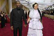 (L-R) Mahershala Ali and Amatus Sami-Karim attends the 92nd Annual Academy Awards at Hollywood and Highland on February 09, 2020 in Hollywood, California.