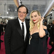 Quentin Tarantino and Margot Robbie Photos