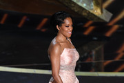 Regina King walks onstage during the 92nd Annual Academy Awards at Dolby Theatre on February 09, 2020 in Hollywood, California.