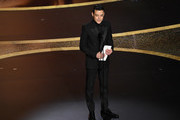 Rami Malek speaks onstage during the 92nd Annual Academy Awards at Dolby Theatre on February 09, 2020 in Hollywood, California.