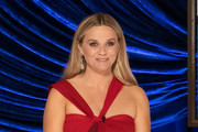 LOS ANGELES, CALIFORNIA – APRIL 25: (EDITORIAL USE ONLY) In this handout photo provided by A.M.P.A.S., Reese Witherspoon  speaks onstage during the 93rd Annual Academy Awards at Union Station on April 25, 2021 in Los Angeles, California.