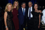 ETA Co-Founder & Board President Susan Benedetto, Tony Bennett and Honoree & ETA Board member George S. Kaufman, Dr. Joyce F. Brown attend the 9th Annual Exploring The Arts Gala at Cipriani 42nd Street on September 28, 2015 in New York City.