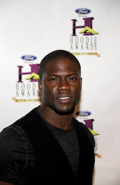 Comedian Kevin Hart arrives at the ninth annual Ford Hoodie Awards at