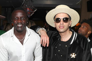 Akon and DJ Cassidy attend The 9th Annual Mark Pitts & Bystorm Ent Post BET Awards Celebration at Bootsy Bellows on June 23, 2019 in West Hollywood, California.