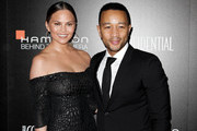 Chrissy Teigen and John Legend attend the 9th Hamilton Behind The Camera Awards at Exchange LA on November 6, 2016 in Los Angeles, California.