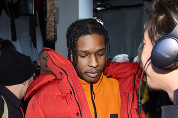 A$AP Rocky Calvin Klein Collection - Front Row - February 2017 - New York Fashion Week