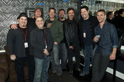 Brad Savage, Barry Sarna, Bob Guiney, James Denton, Chris Kelly, Chris Mostert, Greg Grunberg and Jesse Spencer attend A Benefit Concert For Sophia at Avalon Hollywood on January 6, 2010 in Hollywood, California.