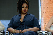 Actor Jill Scott of 'Flint' speaks onstage during the Lifetime and A+E Networks portion of the 2017 Summer Television Critics Association Press Tour at The Beverly Hilton Hotel on July 28, 2017 in Beverly Hills, California.