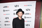 """John Martin of Stranger Friends attends the Los Angeles premiere of """"The Last Movie Star"""" at the Egyptian Theatre on March 22, 2018 in Hollywood, California."""
