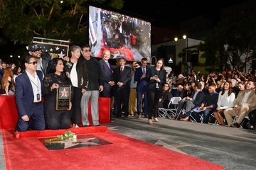 AB Quintanilla Selena Quintanilla Honored Posthumously With Star On The Hollywood Walk Of Fame