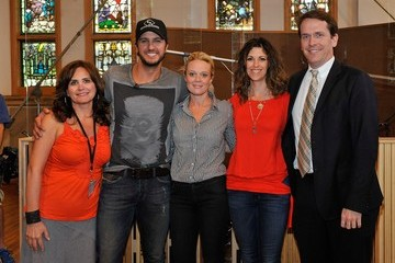 Kerry Edwards ACM Lifting Lives Music Camp Recording Session with Luke Bryan & Paul Worley