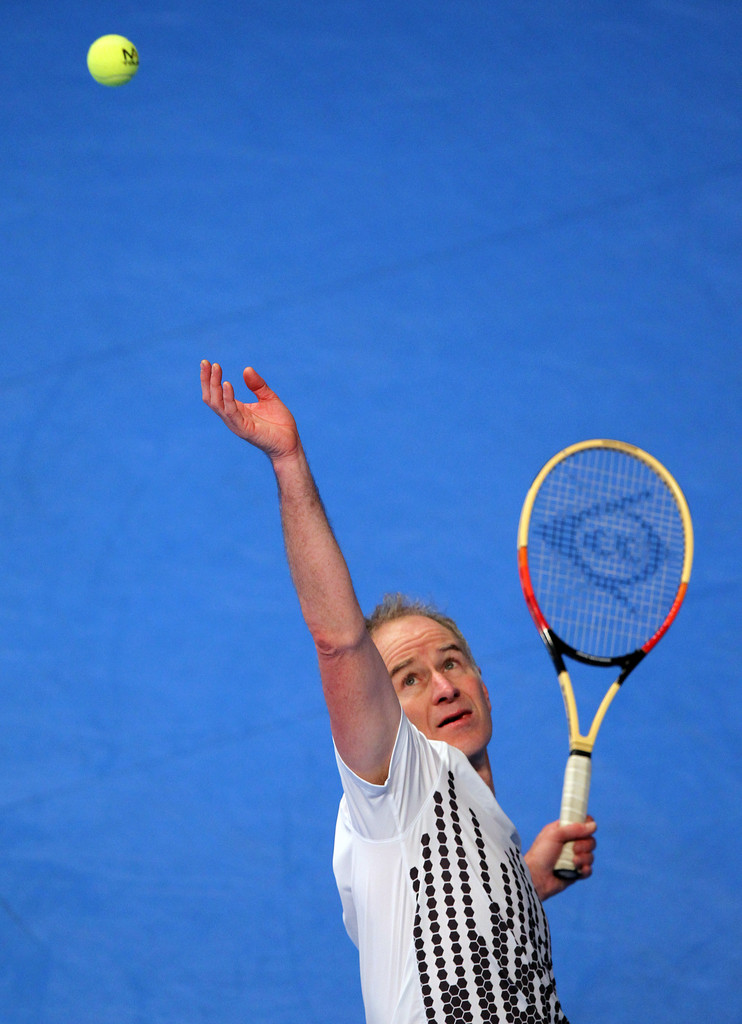 John Mcenroe Photos Photos Aegon Masters Tennis Day