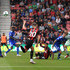 David Brooks of AFC Bournemouth misses a chance during the Premier League match between AFC Bournemouth and Cardiff City at Vitality Stadium on August 11, 2018 in Bournemouth, United Kingdom. - 71 of 141