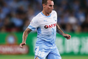 Luke Wilkshire of Sydney FC controls the ball during the AFC Asian Champions League match between Sydney FC and Suwon Bluewings at Allianz Stadium on February 14, 2018 in Sydney, Australia.
