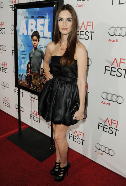 "Actress Paz Vega arrives at ""Abel"" screening during AFI FEST 2010 presented by Audi at Grauman's Chinese Theatre on November 7, 2010 in Hollywood, California."