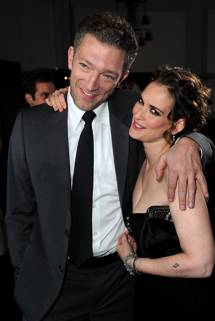 Winona Ryder and Vince...