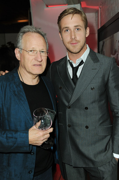 "Director Michael Mann (L) and actor Ryan Gosling attend the ""Blue Valentine"" screening after party during AFI FEST 2010 presented by Audi held at the Hollywood Roosevelt Hotel on November 6, 2010 in Hollywood, California."