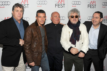 "Antonio Banderas Michael Barker AFI FEST 2011 Presented By Audi - Evening With Pedro Almodovar & Screening Of El Deseo's ""Law Of Desire"" - Red Carpet"
