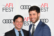 """Scott Neustadter (L) and Michael Weber attend the screening of  """"The Disaster Artist"""" at AFI FEST 2017 Presented By Audi on November 12, 2017 in Hollywood, California."""