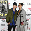 Evan Ross and Tracee Ellis Ross