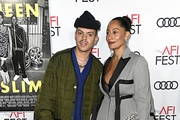 "(L-R) Evan Ross and Tracee Ellis Ross attend the ""Queen & Slim"" Premiere at AFI FEST 2019 presented by Audi at the TCL Chinese Theatre on November 14, 2019 in Hollywood, California."