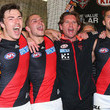 Michael Hibberd and James Hird Photos