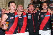 Michael Hibberd and James Hird Photos Photo