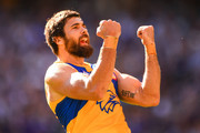 Josh Kennedy of the Eagles celebrates a goal taking him to the scorer of most goals for the club during the 2018 AFL round six match between the Fremantle Dockers and the West Coast Eagles at Optus Stadium on April 29, 2018 in Perth, Australia.