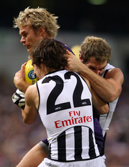 Paul Duffiled AFL Rd 8 - Dockers v Magpies
