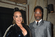 (L-R) Faith Evans and Billy Porter attend AHF's free World AIDS Day 2019 concert hosted by Primetime Emmy-award winner Billy Porter ('Pose') at the historic Wilshire Ebell Theatre on Sunday, December 1, 2019 in Los Angeles, CA. The event featured performances by Faith Evans, Daya and Miss Shalae and coincided and also served as a 10th anniversary celebration of IMPULSE GROUP, an AHF supported global organization with more than 500 volunteers on five continents whose purpose is to engage, support and connect gay men.