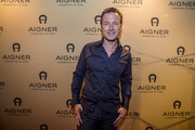 Norbert Dobeleit attends the AIGNER store opening party on October 29, 2015 in Palma de Mallorca, Spain.