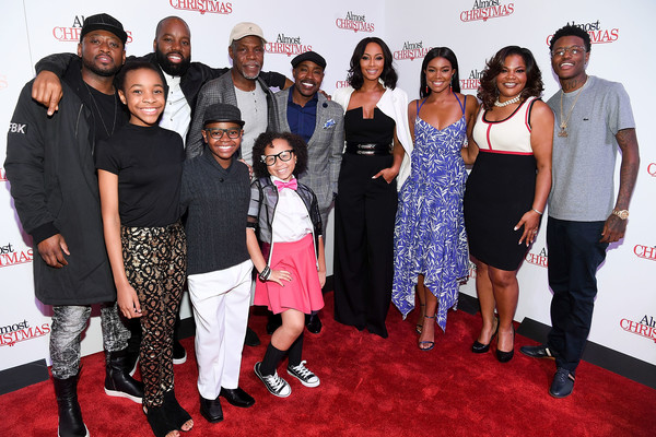 Cast From Almost Christmas.David E Talbert In Almost Christmas Atlanta Red Carpet