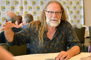 Greg Nicotero attends the Creepshow Panel at Comic Con 2019 on July 19, 2019 in San Diego, California.