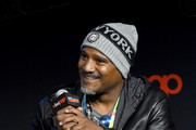 Seth Gilliam speaks onstage during a panel for AMC's The Walking Dead Universe including AMC's flagship series and the untitled new third series within The Walking Dead franchise at Hulu Theater at Madison Square Garden on October 05, 2019 in New York City.