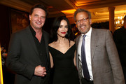 (L-R) Aden Young, Abigail Spencer and Mark Johnson attend the AMC Networks Evening Event of the Winter 2020 TCA Press Tour on January 16, 2020 in Pasadena, California.