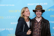 Brie Larson and John Gallagher attend AMPAS And Rooftop Films Special Screening Of 'Short Term 12' at Old American Can Factory on July 20, 2013 in New York City.