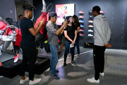 Gael Monfils attends the ASICS Tennis 5th Avenue Flagship Event on August 23, 2019 in New York City.