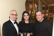 (L-R) Matt Bershadker, Cecily Strong, and Isaac Mizrahi attend the 21st Annual Bergh Ball hosted by the ASPCA at The Plaza Hotel on April 19, 2018 in New York City.