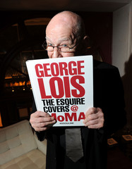 """George Lois ASSOULINE Celebrates """"George Lois: The ESQUIRE Covers @ MoMA"""" Book Launch"""