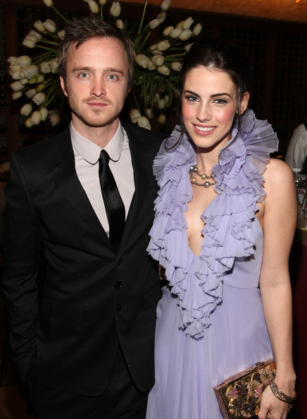 Jessica Lowndes aaron paul
