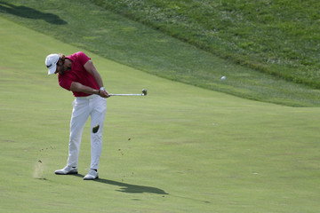 Aaron Baddeley Quicken Loans National - Round Two