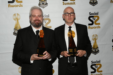 Aaron Bleyaert Arrivals at the Social TV Awards