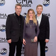Aaron Henningsen Arrivals at the 48th Annual CMA Awards