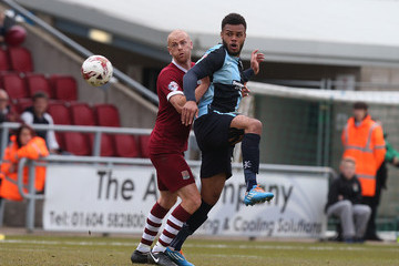Aaron Holloway Northampton Town v Wycombe Wanderers - Sky Bet League Two