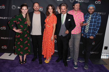 Aaron Paul Mike Hollingsworth The Paley Center For Media's 2018 PaleyFest Fall TV Previews - Netflix - Arrivals