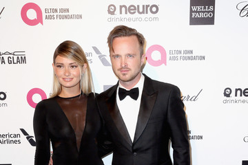 Aaron Paul Arrivals at the Elton John AIDS Foundation Oscars Viewing Party — Part 4