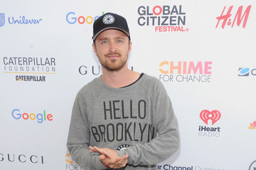 Aaron Paul 2015 Global Citizen Festival in Central Park to End Extreme Poverty by 2030 - VIP Lounge