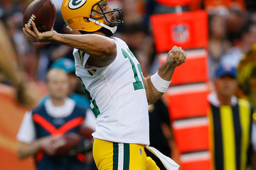 Aaron Rodgers Green Bay Packers v Denver Broncos