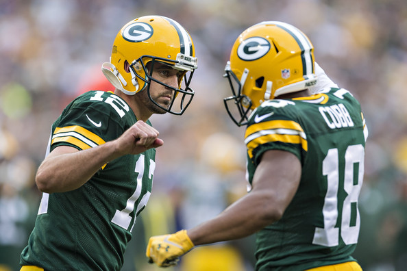 Aaron Rodgers & Randall Cobb